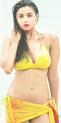 Alia Bhatt Bikini Pics