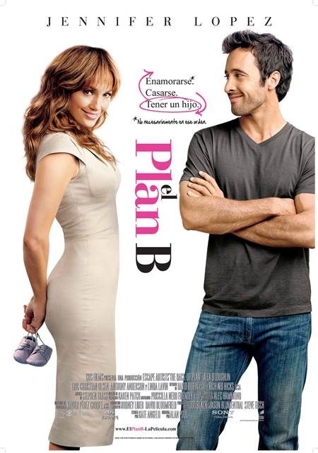 El plan B The Backup Plan 2011 DVDRip Comedia Español Latino