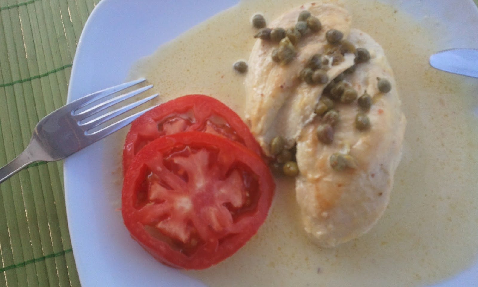 Canela kitchen: Chicken Breasts in Caper Cream Sauce