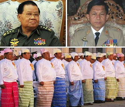 >views on recent changes in Burma