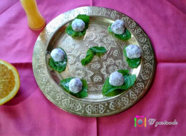 Delicias de sésamo y aroma de azahar