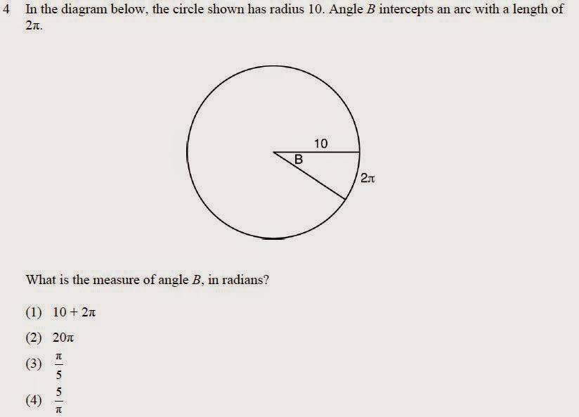 My Thoughts: Regents Examination in Geometry (Common Core) Sample ...