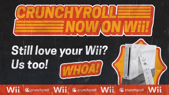 Crunchyroll agora chega ao Nintendo Wii trazendo diversos animes gratuitamente para você