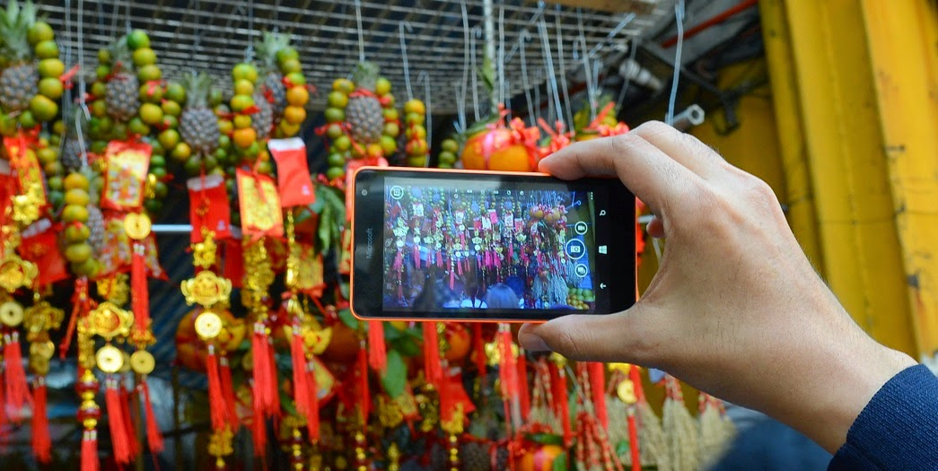 Chinese Lucky Charms with the Lumia 535
