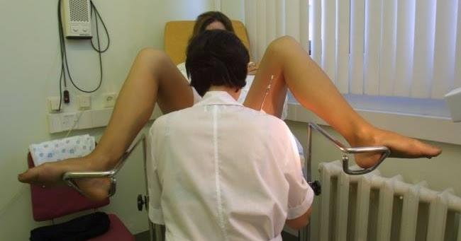 Осмотр девушки у гинеколога фото