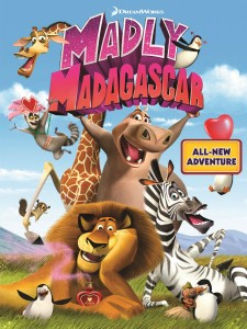 Madly Madagascar (2012) DVDRip 150MB MKV