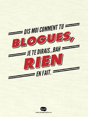 Bloguer, Bouger!