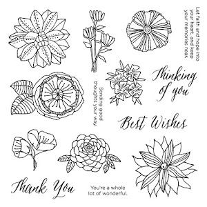 Stamp of the Month - Thoughtful Flowers