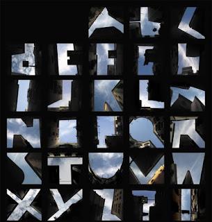 Небесный шрифт