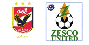 مباراة الأهلي وزيسكو