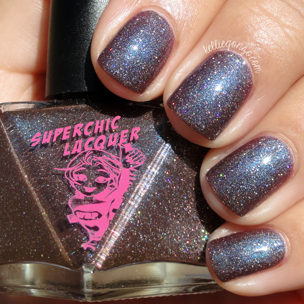 SuperChic Lacquer Mmm, Chocolate Snocaps