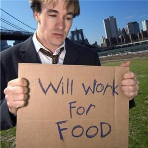 jobless deckcadet work for food
