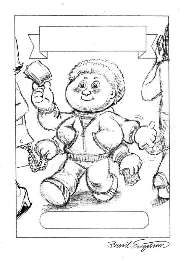 garbage pail kids coloring pages - photo#2