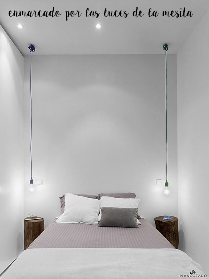 Ideas camas sin cabecero - Bed without headboard