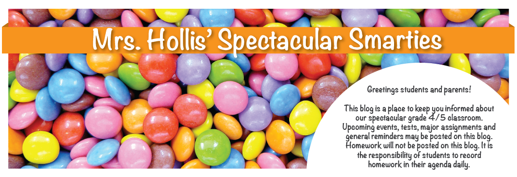 Mrs. Hollis' Spectacular Smarties