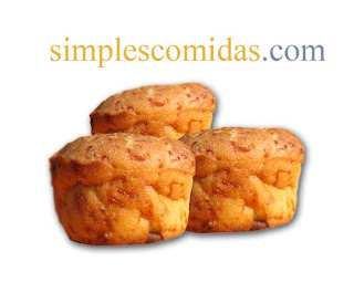 Muffins queso aceitunas