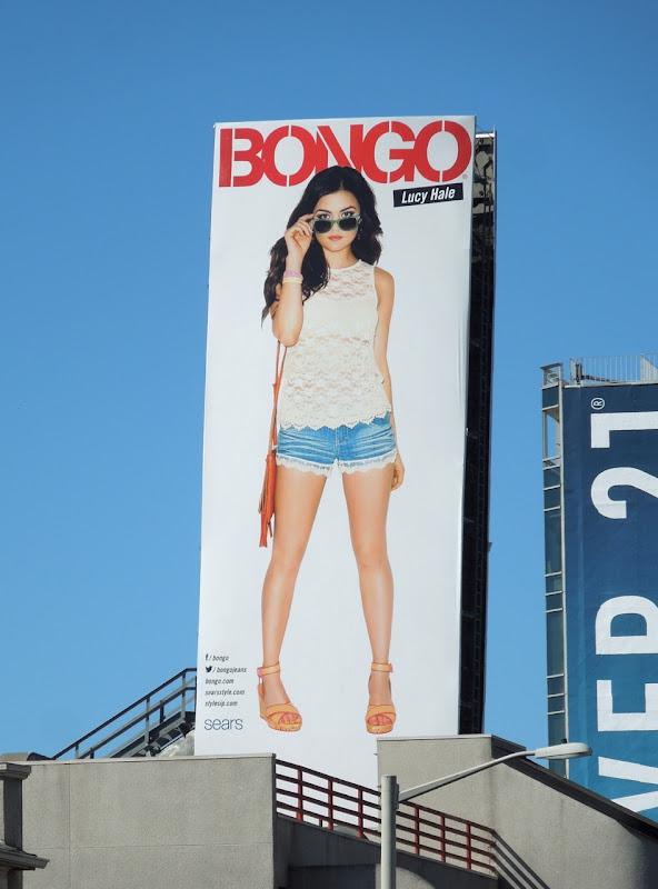 Lucy Hale Bongo billboard