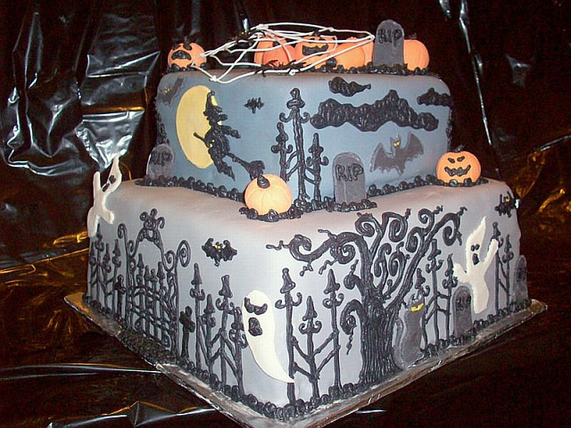 Halloween Cake Decorations Aldi : Amy s Daily Dose: Ideas For Halloween Cakes