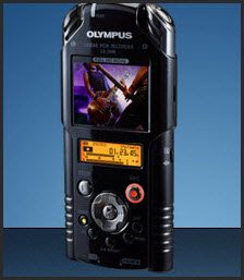 Olympus LS-20M recorder