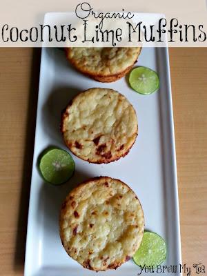 organic Coconut Lim Muffins