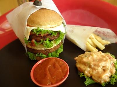 Burger festival in Delhi