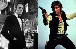 Christopher Walken Harrison Ford Han Solo