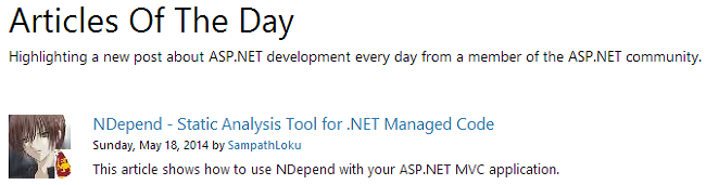 NDepend - Static Analysis Tool for .NET Managed Code