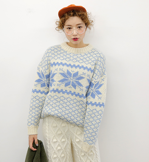 Nordic Style Sweater