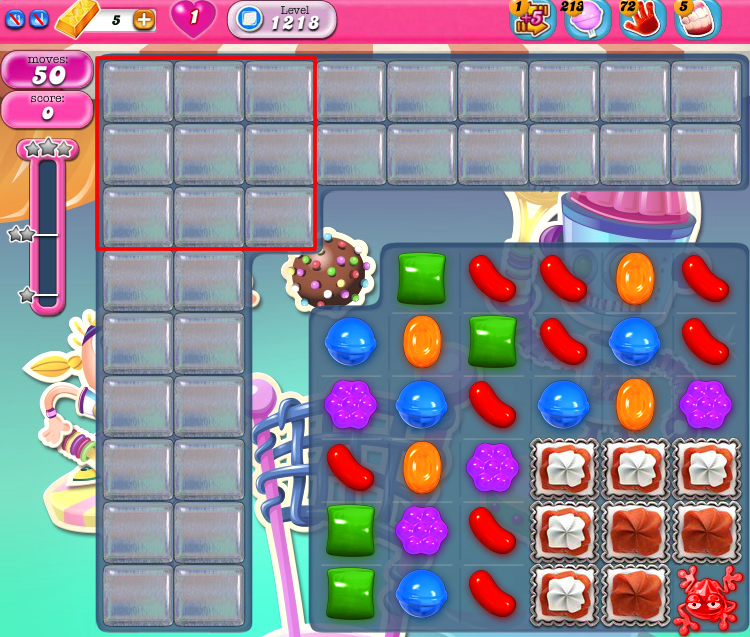 Candy Crush Saga 1218