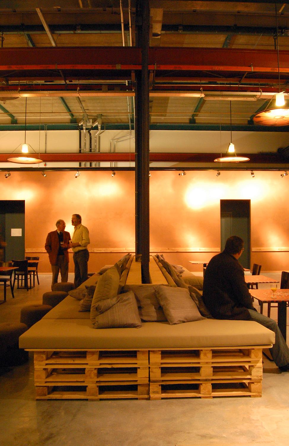 Mueblesdepalets.net: Muebles de palets: Restaurante en Amsterdam ...