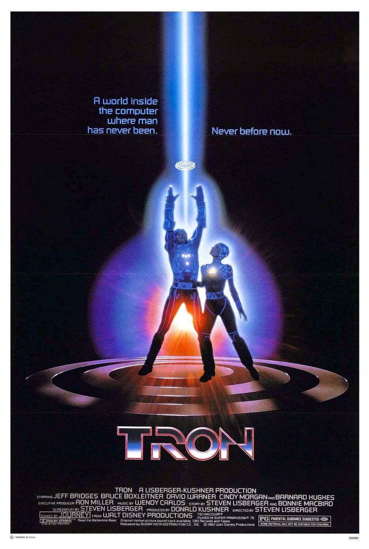 Cartel película Tron