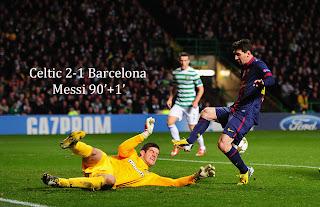 Celtic vs Barcelona