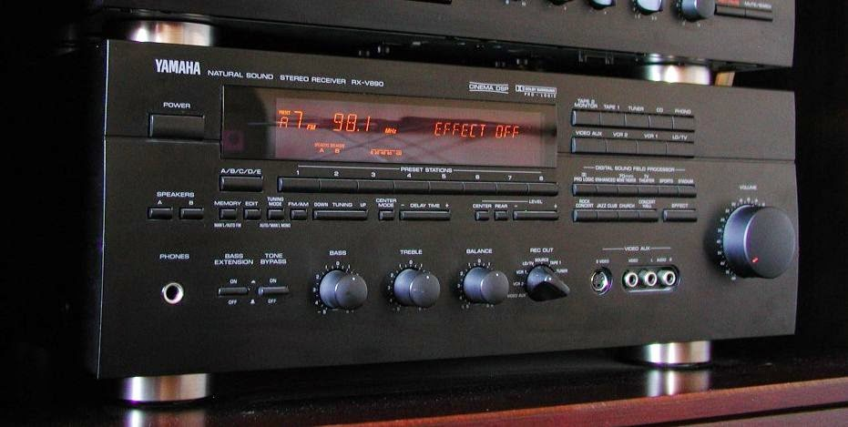 What Year Was Yamaha Rx V    Channel Av Receiver