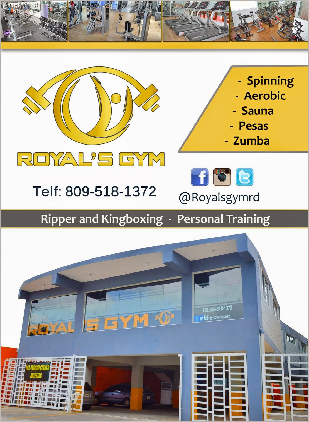 ROYAL'S GYM