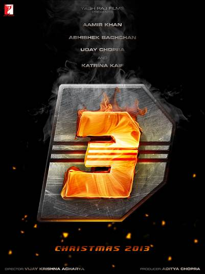 Exclusive First Look Poster & Logo of 'Dhoom 3'