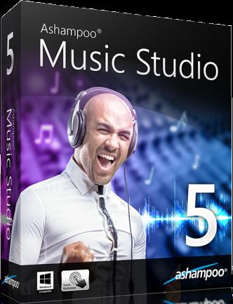 Ashampoo Music Studio v6.0.0.24 Full Crack