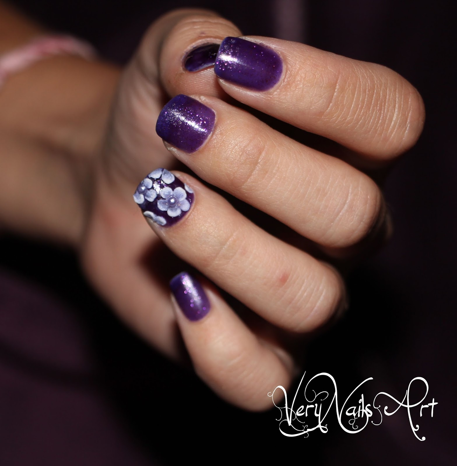 Decoraci n de u as con flores en 3d verynailsart blog for Unas de porcelana decoracion