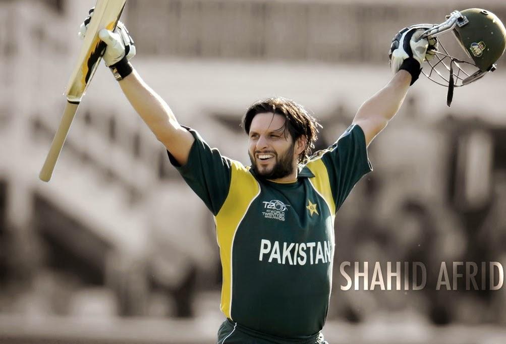Shahid afridi pakistan cricket star new hd wallpaper 2014 world fresh hd wallapers - Pakistan cricket wallpapers hd ...