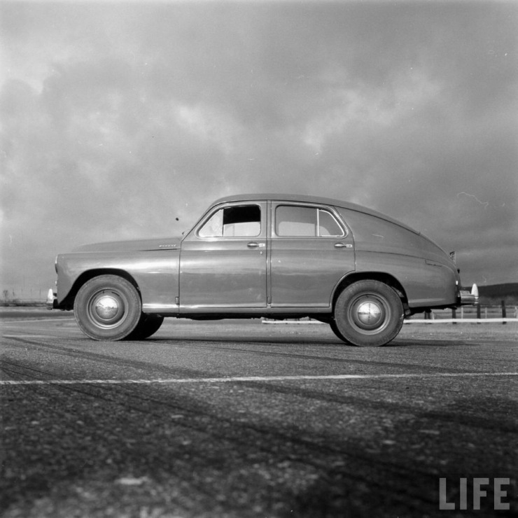 Pictures Of Legendary Soviet Car Gaz M20 Pobeda On The Streets Of