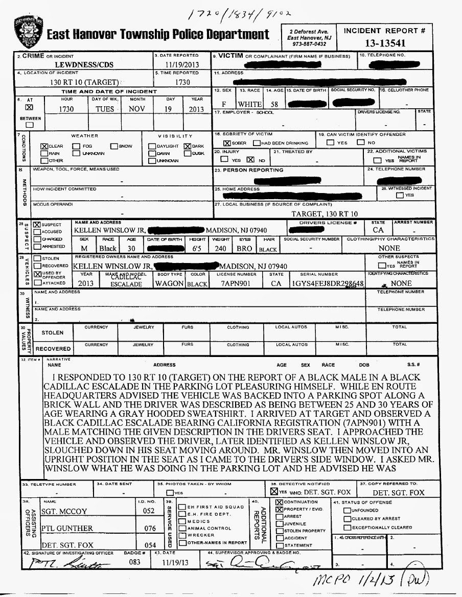 police incident report template .