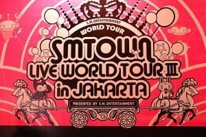 Foto SM Town Konser di Indonesia