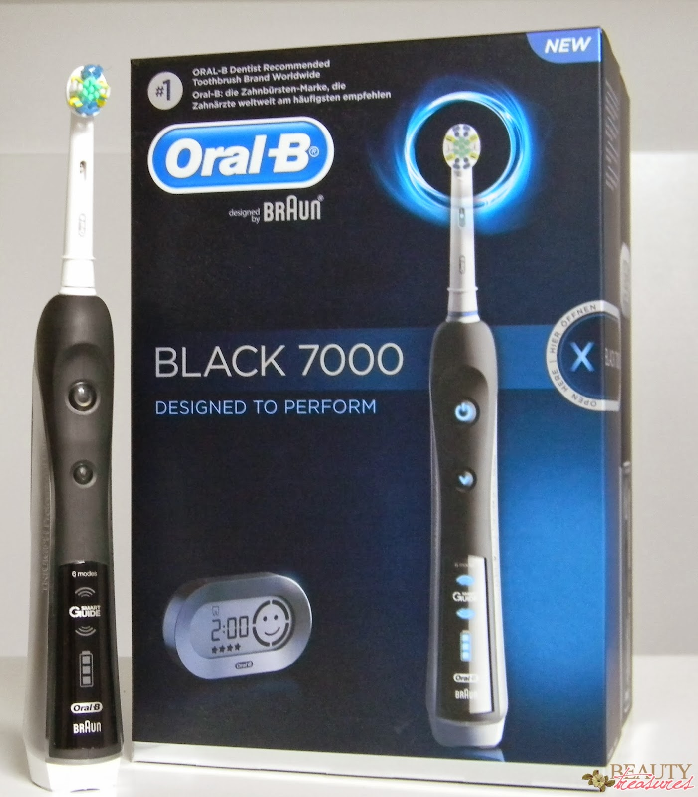 Oral-B specializes in removing plaque stored near the gums, Oral-B stresses teeth whitening while the Oral-B gives the user tooth by tooth clean. Considering their costs, the Oral-B is definitely the most feature-rich brush handle of all the three, providing more options for a thorough mouth clean in comparison to others.