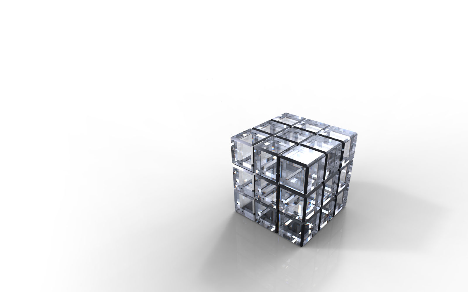 wallpapers: Crystal Cube Wallpapers