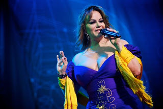 Jenni Rivera sexy dress performance