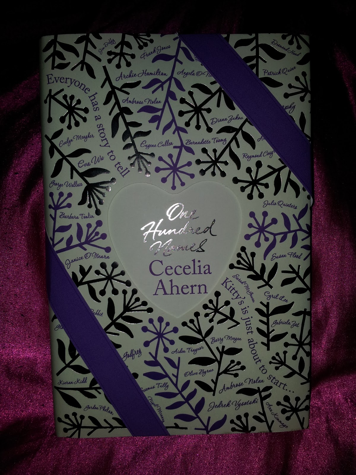 Miss Bookworm Reviews One Hundred Names By Cecelia Ahern border=