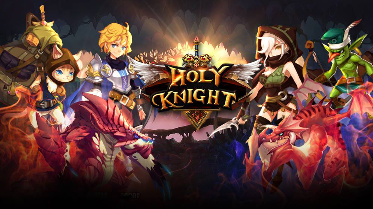 Holy Knight English Gameplay IOS / Android