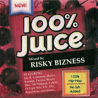 J.U.I.C.E. & DJ Risky Bizness-– 100% J.U.I.C.E. [CD] (2001) Flac