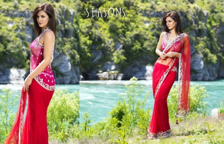 Smart-Party-Wear-Saree