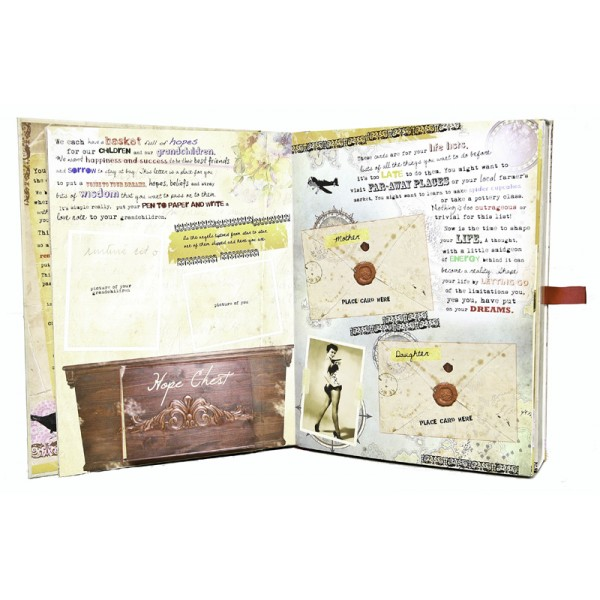 The funky monkey treasured passages mother daughter for Treasured passages letter book