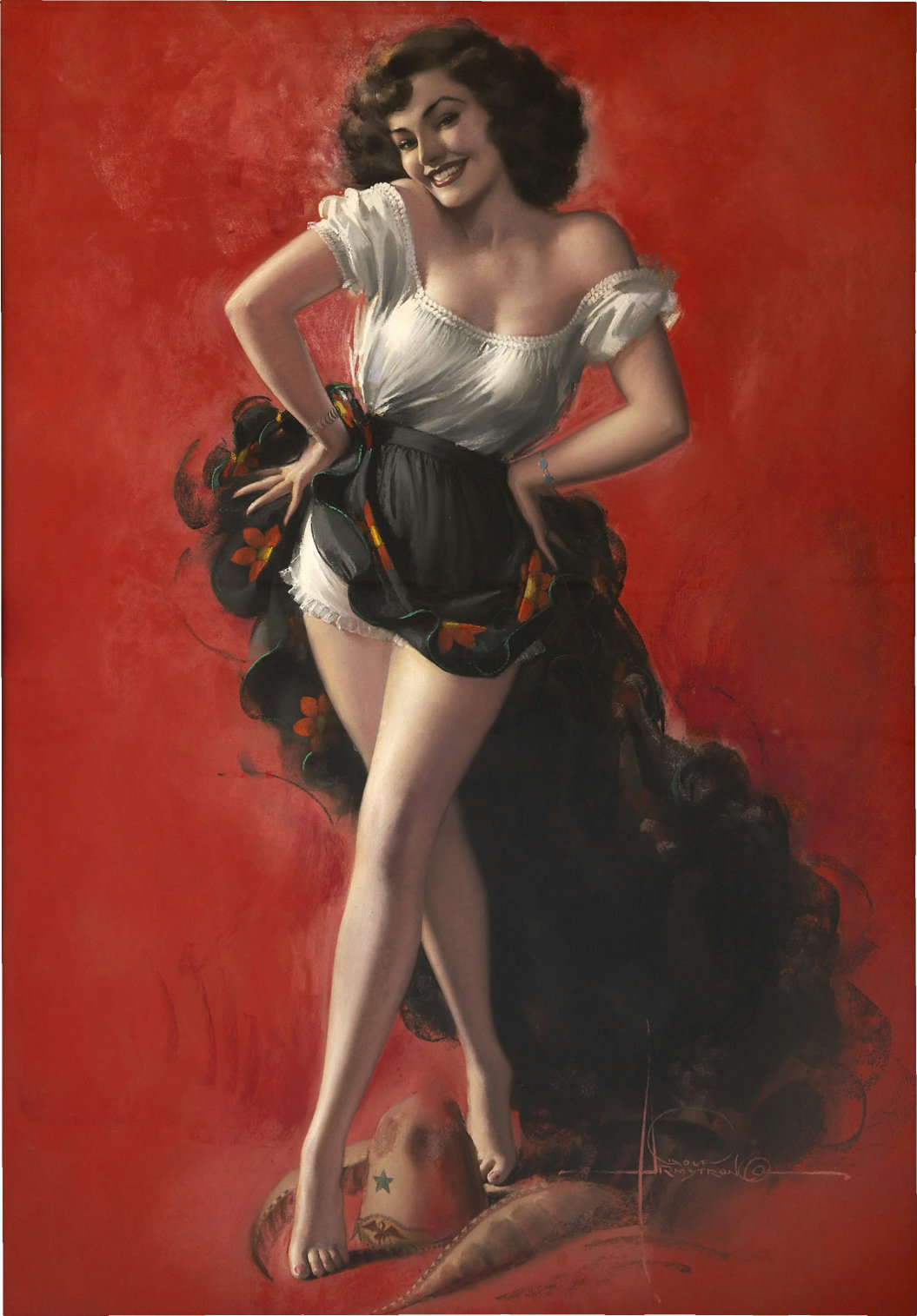 rolf armstrong illustration